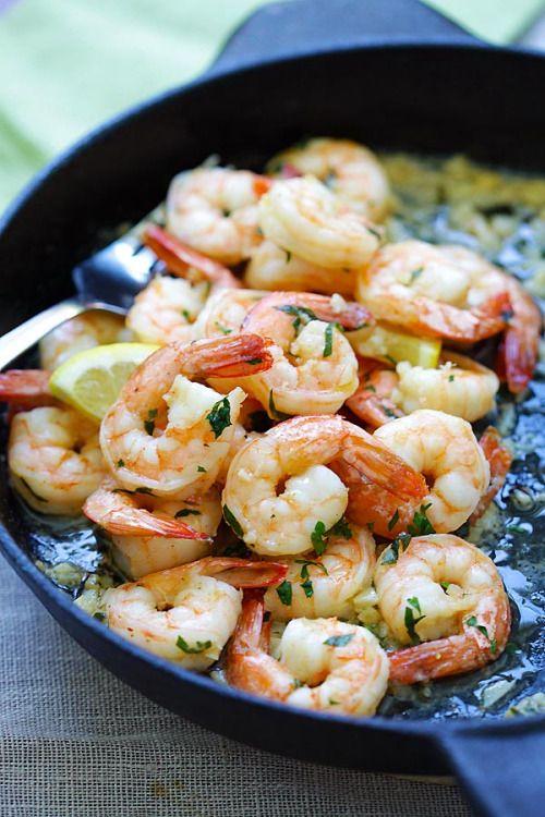 Shrimp ScampiReally nice recipes. Every hour.Show me what you  Mein Blog: Alles rund um die Themen Genuss & Geschmack  Kochen Backen Braten Vorspeisen Hauptgerichte und Desserts # Hashtag
