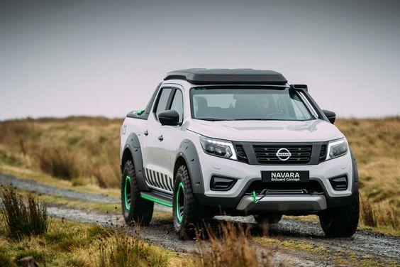 Nissan apresenta modelo Navara, uma picape elétrica de resgate   A…
