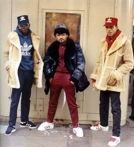 sheepskin jacket old school rapper style. | Old School