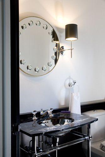 The Granite Gurus: Marble, Granite, and Quartz in Retro Inspired Bathrooms