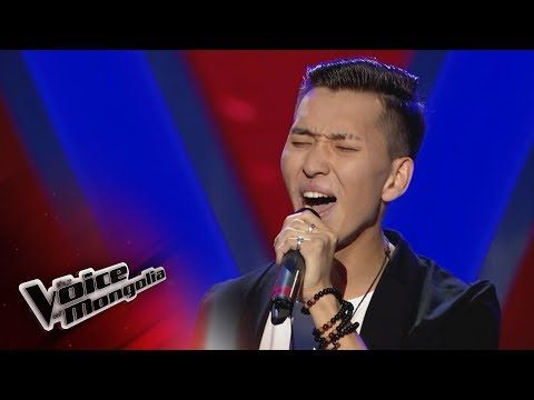Munkh Erdene G All I Want Blind Audition The Voice Of Mongolia 2018 Youtube The Voice Audition Mongolia