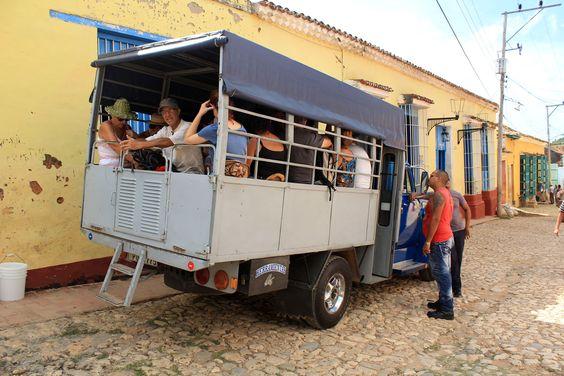 #cuba #ville #trinidad #city #town #bus