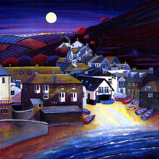 Gilly Johns. Port Isaac Moonlight: