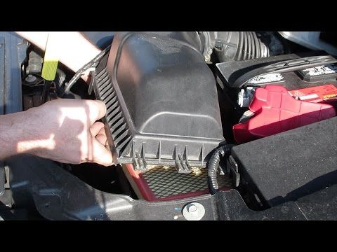 How To Replace Engine Air Filter  Ford Edge Vl Ford Engine Air Filter Replacement Videos Pinterest Ford Edge Filter And Engine