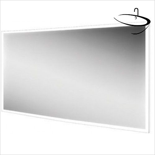 Hib bathroom mirrors globe 120 mirror 60 x 120 x for Miroir 120x60