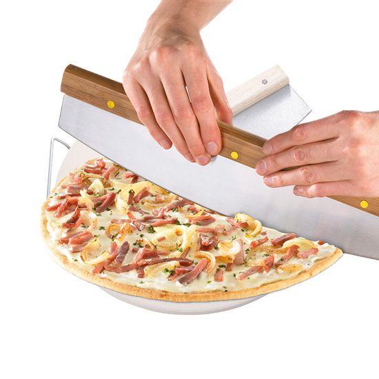 dr oetker pizzastein inkl pizza wiegemesser backen backhelfer pinterest. Black Bedroom Furniture Sets. Home Design Ideas