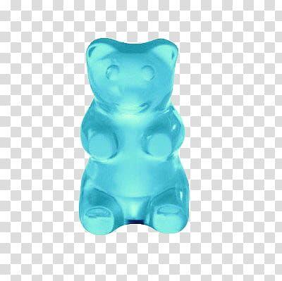 Aesthetics Blue Gummy Bear Transparent Background Png Clipart Transparent Stickers Brown Bear Illustration Gummy Bears