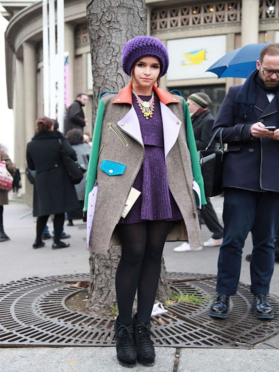 I love this coat! Biker Coat by Tata Naka