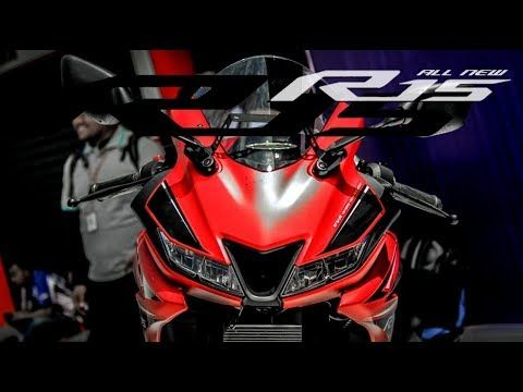 Yamaha R15 V3 Review 2018 With Red Color Yamaha
