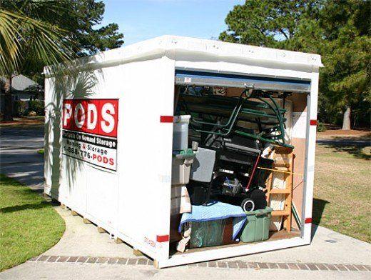 Portable storage pod