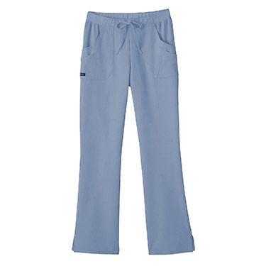 Jockey Scrubs Women's Rib Trim Combo Comfort Tri Blend Scrub Pants | allheart.co