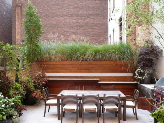 Brise vue terrasse: 25 idées sympas pour plus d`intimité ...