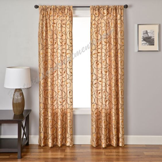 Curtains Curtain Panels And Custom Window Treatments On Pinterest