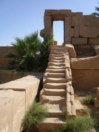 Stairway To Heaven, Rameses Temple, Cairo, Egypt, photo by Patrice Villastrigo