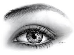 dibujos de ojos a lapiz - Buscar con Google