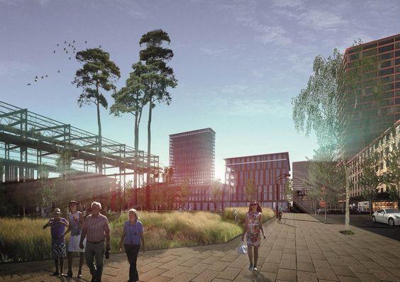 1st Prize: MVRDV | LAP Landscape & Urban Design | PROEKTUS | PROMOS, © MVRDV