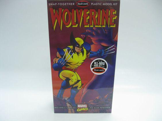 "Wolverine 8"" Super Hero Model Kit Marvel Comics Sealed 2013 Polar Lights #POL892 #PolarLights"