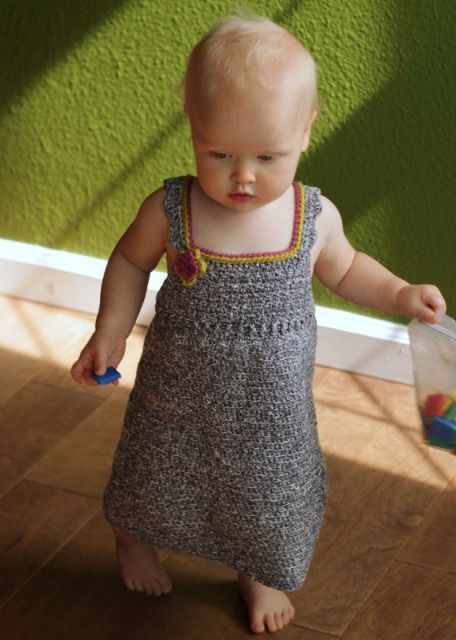 Sweet Summer Dress Crochet Pattern For 1 2 Year Old