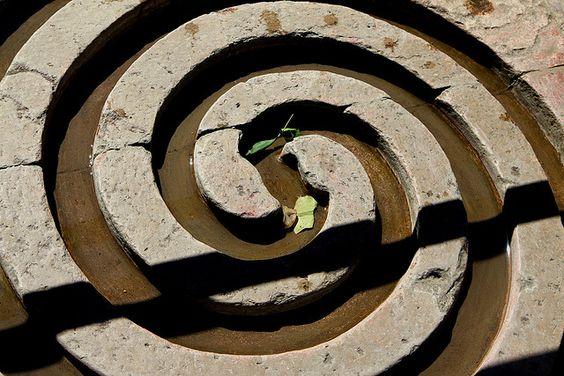 Spiral Water Channel