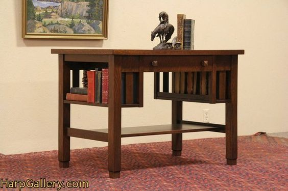 Library Table Table Desk And Harp On Pinterest