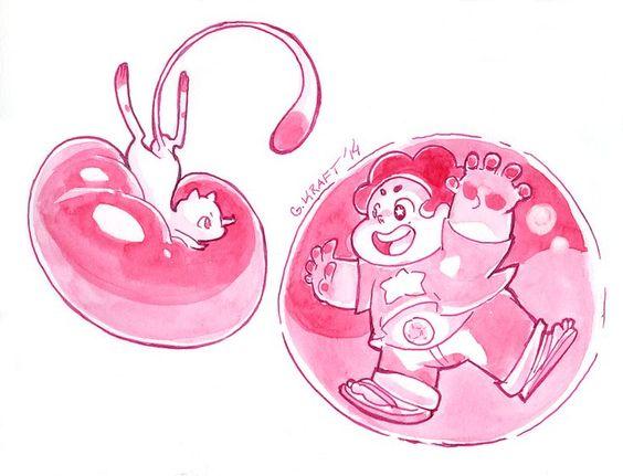 Resultado de imagem para steven making a bubble