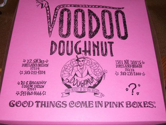 Voodoo Doughnuts in Portland, OR..delish