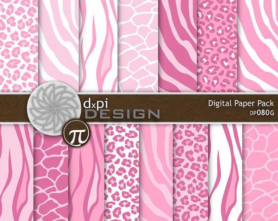Baby pink cheetah print background - photo#19
