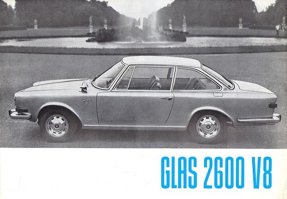 1966 - Glas 2600 V8