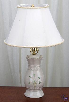 Belleek Tara Lamp & Shade