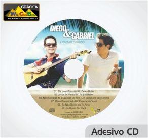Adesivo CD
