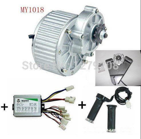 My1018 250w 24v Electric Motors For Bikes Electric Bicycle Kit Electric Bike Conversion Kit Electric Bike Kits Electric Bicycle Kit Electric Bike Conversion