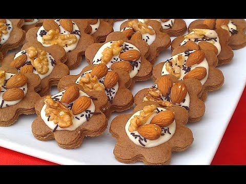 حلوى بثلاث مكونات فقط رااااقيية واقتصادية بدون زيت او زبدة او خميرة تستحق التجربة Youtube Desserts Food Gingerbread Cookies