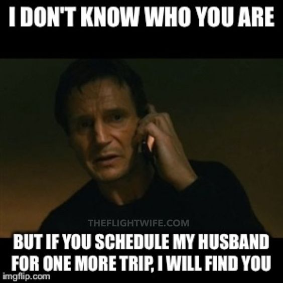 http://www.theflightwife.com/25-memes-that-sum-up-pilot-wife-life-perfectly/