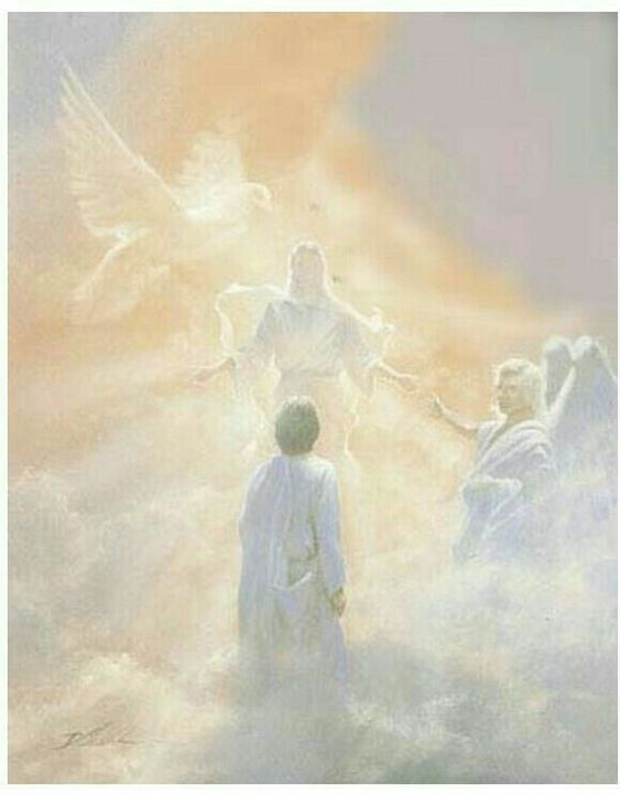 The Ascended Masters of Light | Jesus pictures, Jesus art, Heaven
