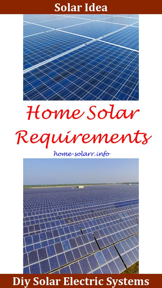 Home Electric Solar Panels
