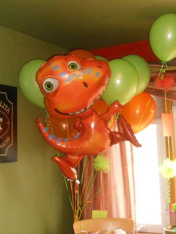 Balloons are a cheap and fun way to add flavor to any party!