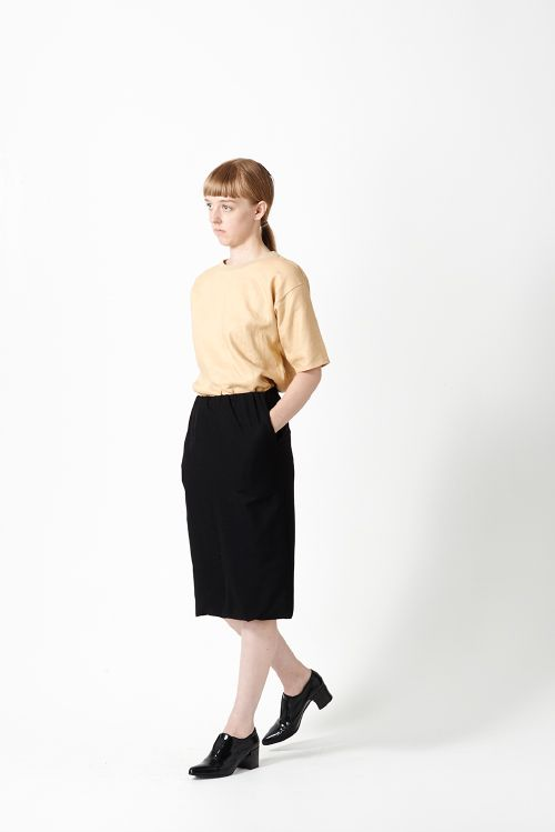 Article N°65 Double Layer Wool Skirt