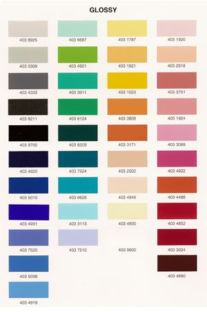 High Tech Ceiling - Finishes and Colors