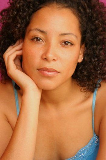 Paola Menacho, actress.  Her mother, the first black woman in Bolivia to marry a white man