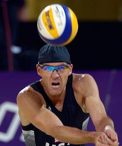 Olympics: Sean Rosenthal (USA) - Beach Volleyball