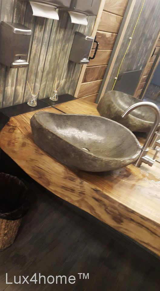 Pin On Natural Stone Vessel Sinks Stone Washbasins