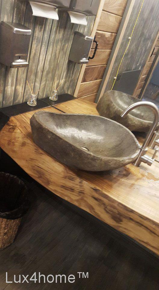 Pin On Natural Stone Vessel Sinks Stone Washbasins