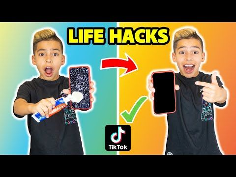 I Tested Viral Tiktok Life Hacks They Worked Part 4 The Royalty Family Youtube Life Life Hacks Royalty