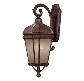 View the The Great Outdoors GO 8692-1-PL 1 Light Down Lighting Large Energy Star Outdoor Wall Sconce from the Harrison Collection at Build.com.