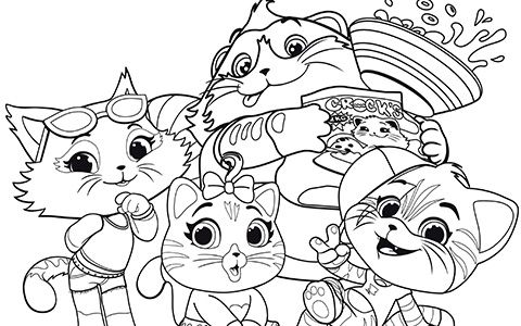 Free 44 Cats Coloring Pages Cat Coloring Page Unicorn Coloring Pages Ladybug Coloring Page