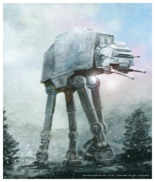 AT-AT (Star Wars fan art)    by Prokhoda
