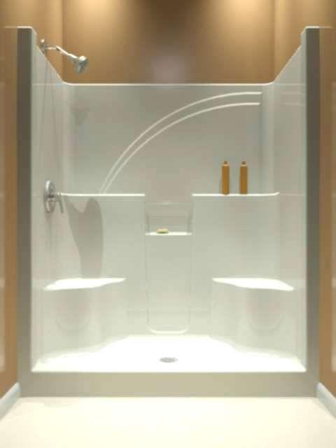 Fiberglass Showers That Look Like Tile Astonishing Shower Pan