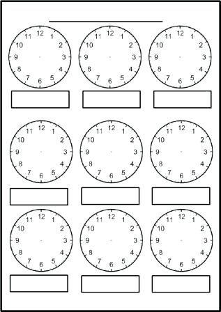 Free Printable Blank Clock Faces Worksheets Math More Worksheet In 2020 Clock Worksheets Blank Clock Math Clock