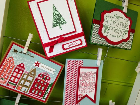 Gathering Inkspiration: Nordic Noel Holiday Stamp-a-Stack Class - Sunday, September 28