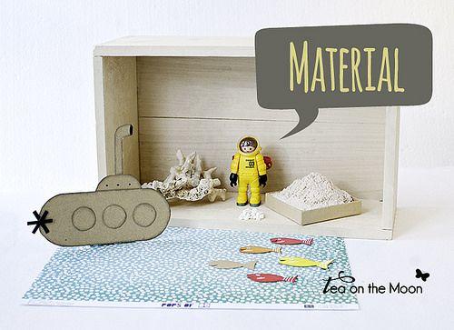 material necesario para realizar tu diorama #playmobil by @teaonthemoon